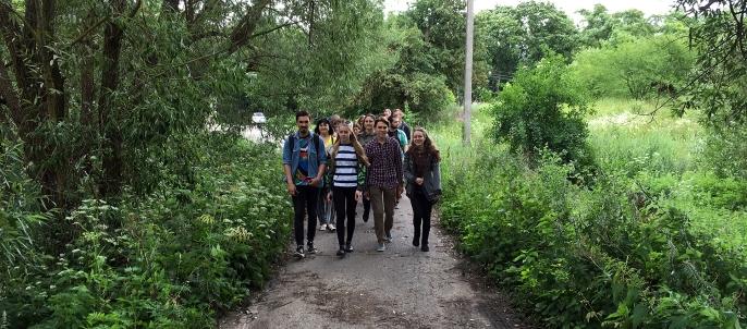 Foto pasivaikščiojimas po Šilainius 2016 Liepa