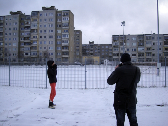 Photo-walk in Šilainiai, January 2016. Photography: Tomas Šimkus